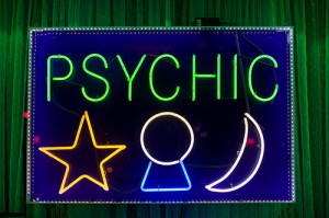 Online Psychic Employment Neon Sign